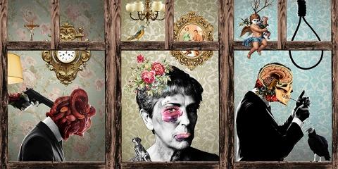 04 ssstendhal arte 8 artistas del collage daniel montiel