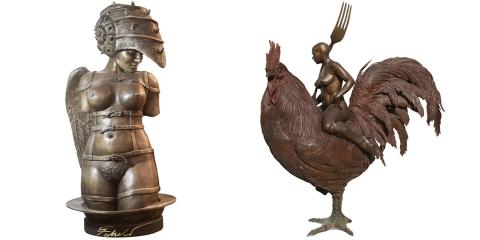 04 ssstendhal arte 8 escultores actuales roberto fabelo