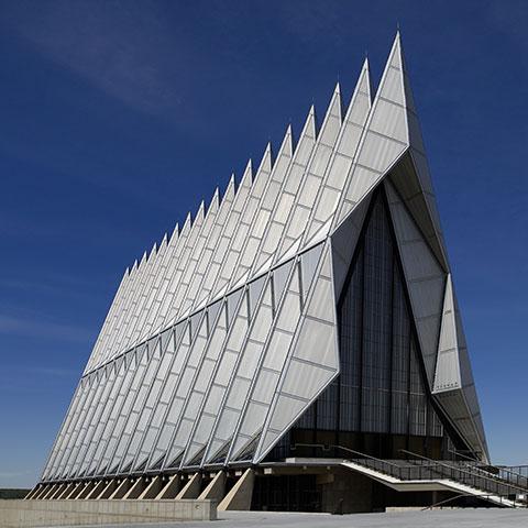 ssstendhal arte 8 arquitecturas singulares air force academy chapel