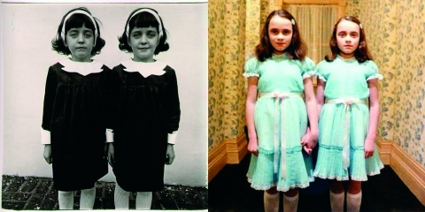 ssstendhal arte referencias visuales Diane Arbus Kubrick