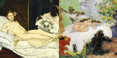 ssstendhal arte referencias visuales manet cezanne