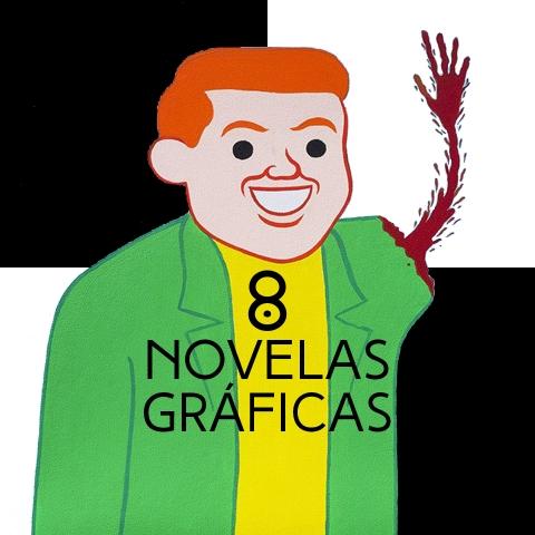 8 novelas gráficas