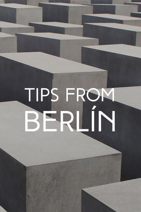 Tips Berlín