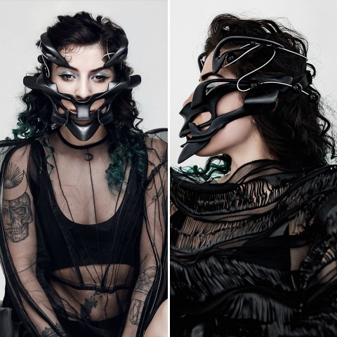 ssstendhal moda cyborg cyber warrior