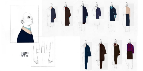 ssstendhal moda isometric sastreria conceptual psique dibujo