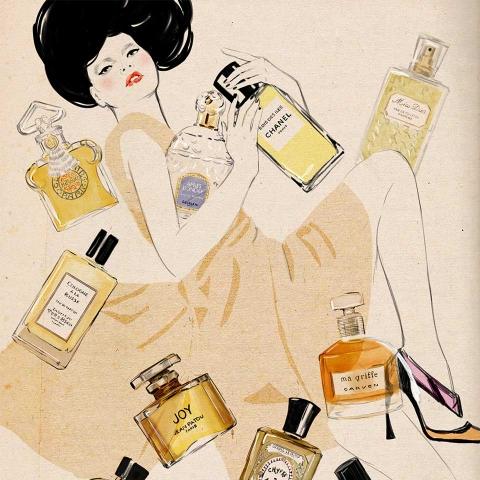 ssstendhal moda moda ilustrada Sandra Suy perfumes 01