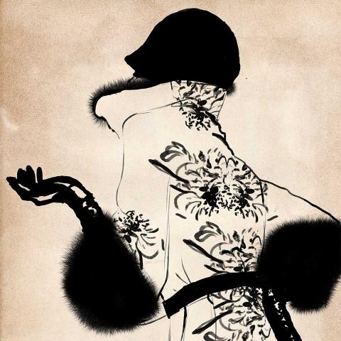 ssstendhal moda moda ilustrada Sandra Suy proenza