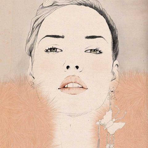 ssstendhal moda moda ilustrada Sandra Suy rose