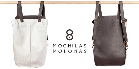 8 mochilas molonas