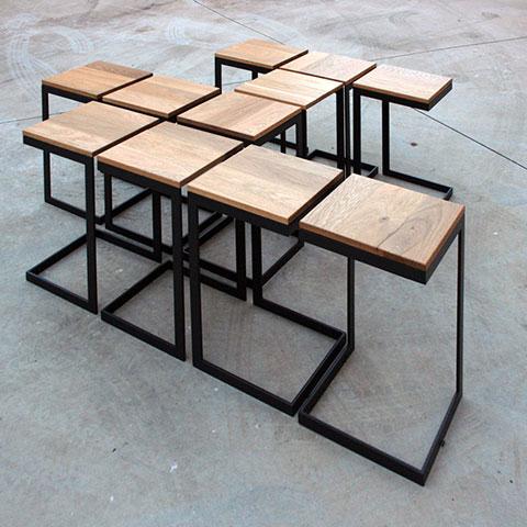 ssstendhal arte de madera y hierro metal 09