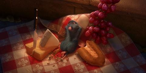 Ssstendhal arte cine gourmet ratatouille