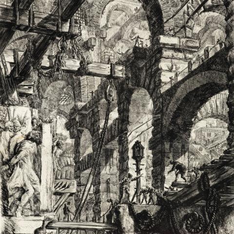 ssstendhal arte ultraestructuras Piranesi